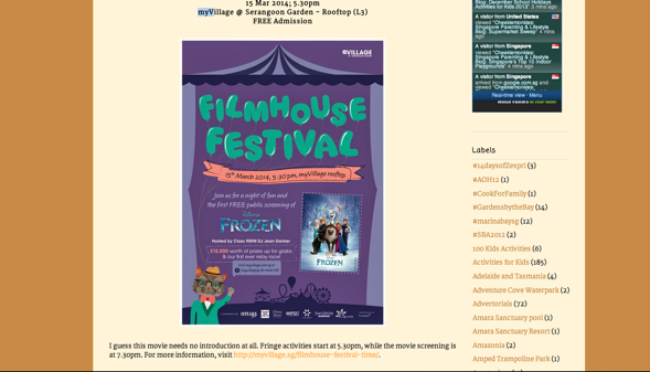 This year's event was featured on popular parenting blogs like Cheekiemonkies